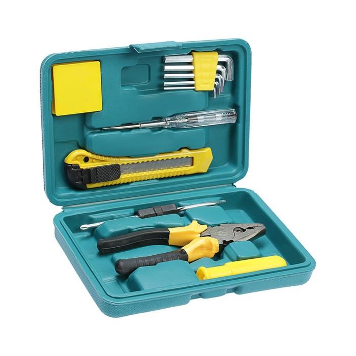 Набор инструментов в кейсе LOM, универсальный, 11 предметов
