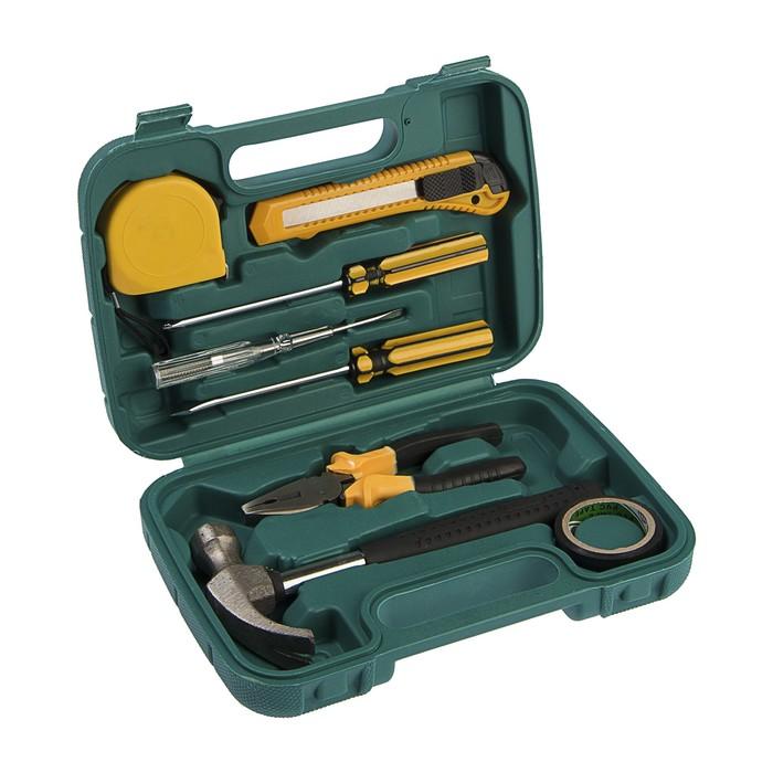 Набор инструментов в кейсе LOM, универсальный, 8 предметов