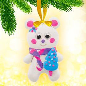 """A set of creative """"hand made Toys """"Bear"""" + eyes, stack"""