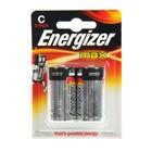 Батарейка алкалиновая Energizer Max, С, LR14-2BL, блистер, 2 шт.