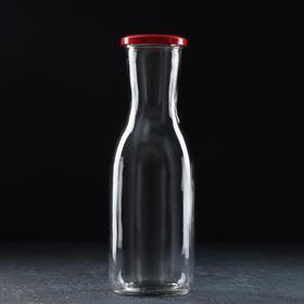 Бутылка «Вайн», 1 л, крышка МИКС