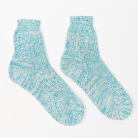 Носки женские теплые, цвет МИКС, размер 25