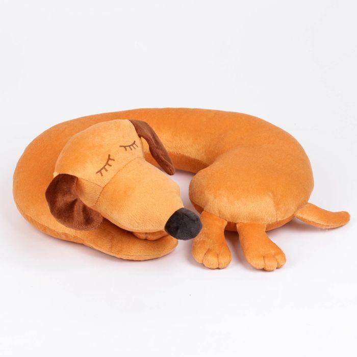 """Мягкая игрушка-подушка """"Такса Соня"""" 35 см 015"""