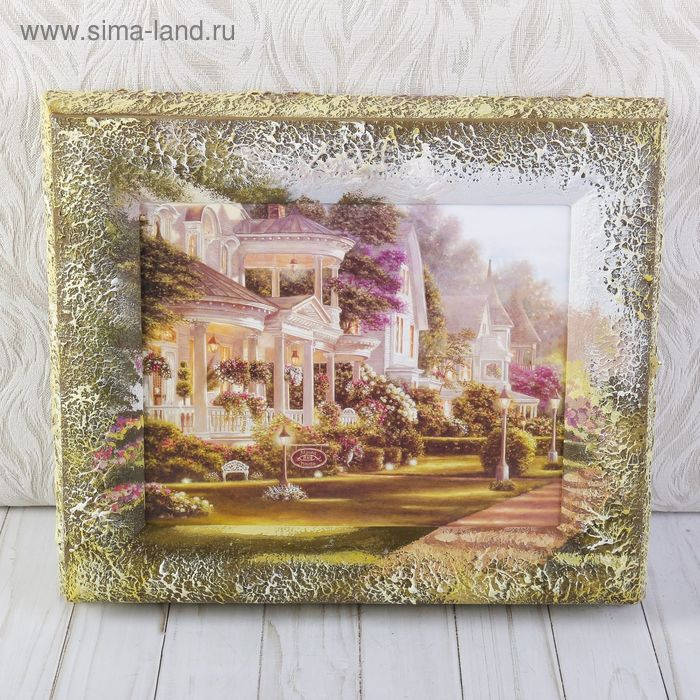 "Ключница  ""Сады"" 29х34 см"