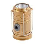 Фонарь для кемпинга телескопический, 3 АА батарейки 9.5х6 см, микс
