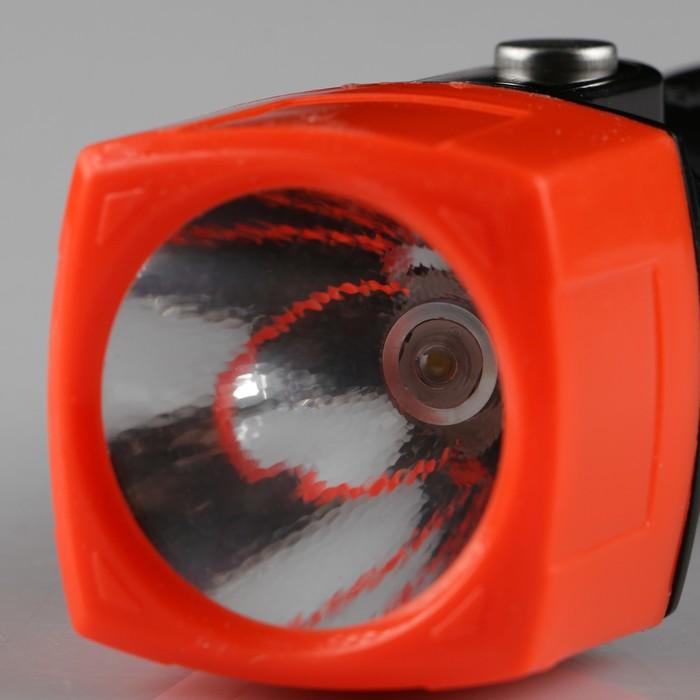 Фонарь ручной, аккумуляторный, 220V, без переходника, 13х5х5 см