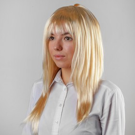 """Carnival wig """"Beauty"""" color Rus"""