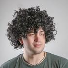 Карнавальный парик «Кудряшки», обхват головы 56 см, цвет чёрный