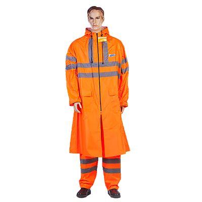 Плащ влагозащитный ExtraVision WPL, размер 48-50, рост 170-176 см, цвет оранжевый