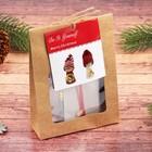 Набор для творчества «Создай новогоднюю подвеску. Куколки в шапочках» набор 2 шт.