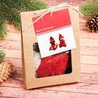 Набор для творчества «Создай новогоднюю подвеску. Красные куколки» набор 2 шт.