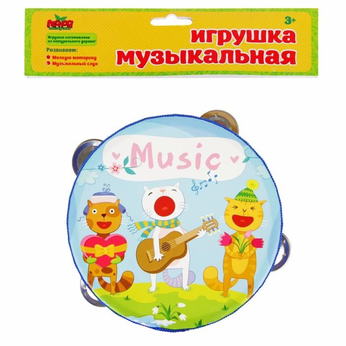 """Бубен """"Коты музыканты"""""""