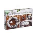 Венок новогодний мягкий «Зимний», набор для шитья, 16,3 × 10,7 × 2,5 см