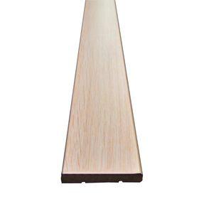 Наличник МДФ плоский Беленый дуб 7,5x70x2150