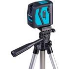 """Нивелир лазерный ADA INSTRUMAX ELEMENT 2D Set IM0111, 10/50 м, ±2 мм/10 м, 2 линии, 1/4"""""""