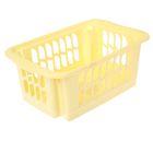 Корзина хозяйственная 30х19,5х12,5 см, цвет желтый