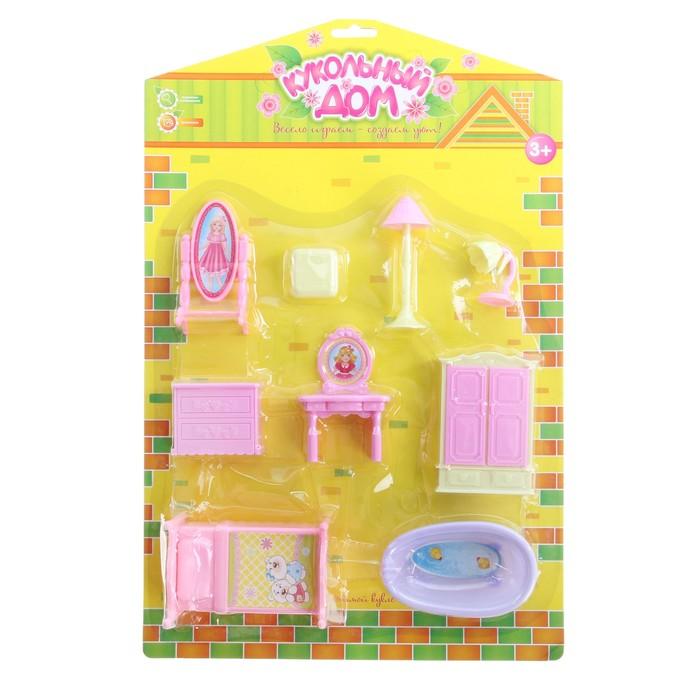 Мебель для кукол, 9 предметов
