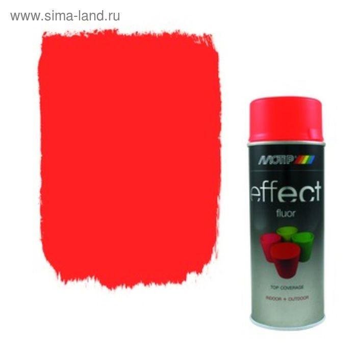 Деко Эмаль флуоресцентная красная, 400 мл, MOTIP