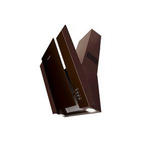 Вытяжка Gefest ВО-3603 Д1К, каминная, 550 м3/ч, 3 скорости, коричневая