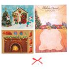 Открытка новогодняя объёмная «Тепла и уюта в Новом году!», набор для создания, 16 × 24 см