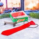 """Подарочный набор: детский галстук и ручка-собака """"Самому лучшему в новый год"""""""
