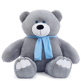 Мягкая игрушка «Мишка Олимп», 110 см, цвет дымчатый, Premium Quality, МИКС