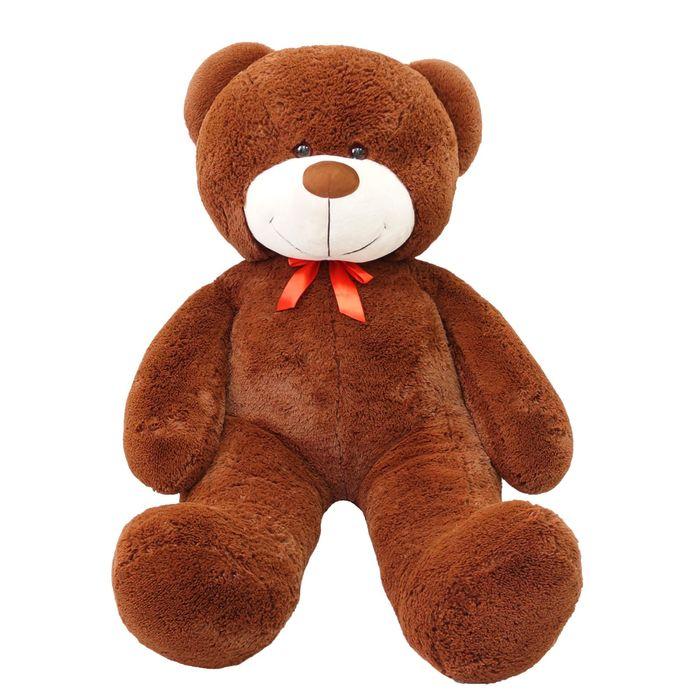 """Мягкая игрушка """"Мишка Федор"""", цвет коричневый, 150 см"""