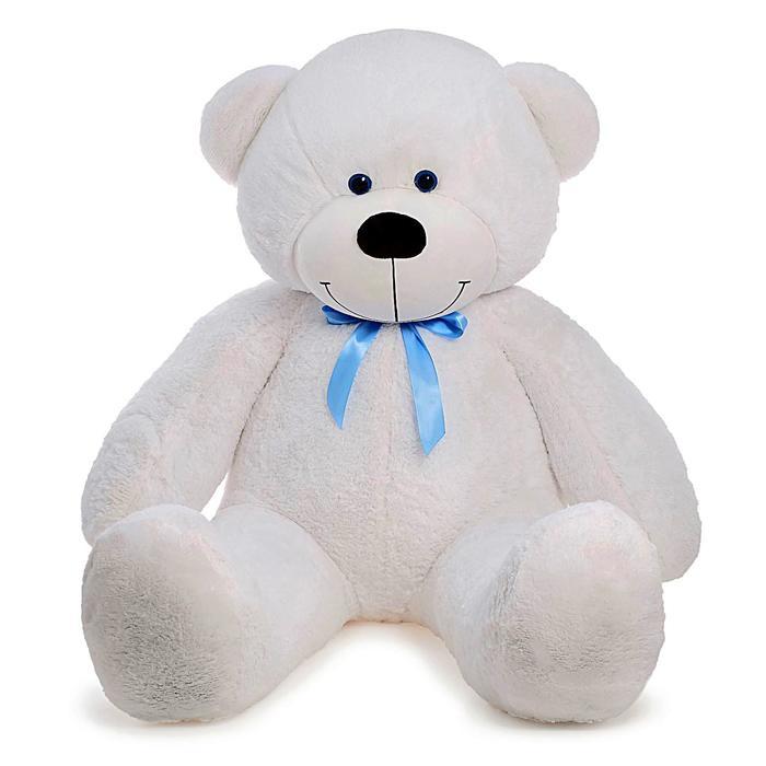 """Мягкая игрушка """"Мишка Федор"""", цвет белый, 170 см"""