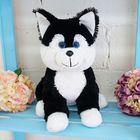 """Мягкая игрушка """"Собака Хасик"""", цвет чёрный, 35 см"""