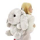 """Мягкая игрушка-рюкзак """"Зайчик Банни"""", цвет молочный, 40 см"""