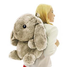 Мягкая игрушка 'Рюкзак Зайчик Банни', цвет песочный, 40 см Ош