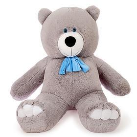 Мягкая игрушка «Мишка Олимп», 150 см, цвет серый , МИКС