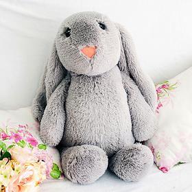 Мягкая игрушка «Зайчик Лесли», цвет серый, 65 см