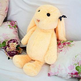 Мягкая игрушка «Зайчик Лесли», цвет персиковый, 65 см