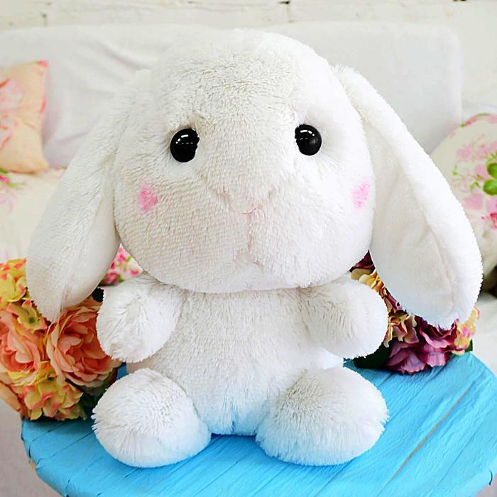Мягкая игрушка «Зайчик Банни», 45 см, цвет белый, МИКС - фото 4468371
