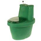 Биотуалет Rostok, компостирующий, торфяной, 100 л, зелёный