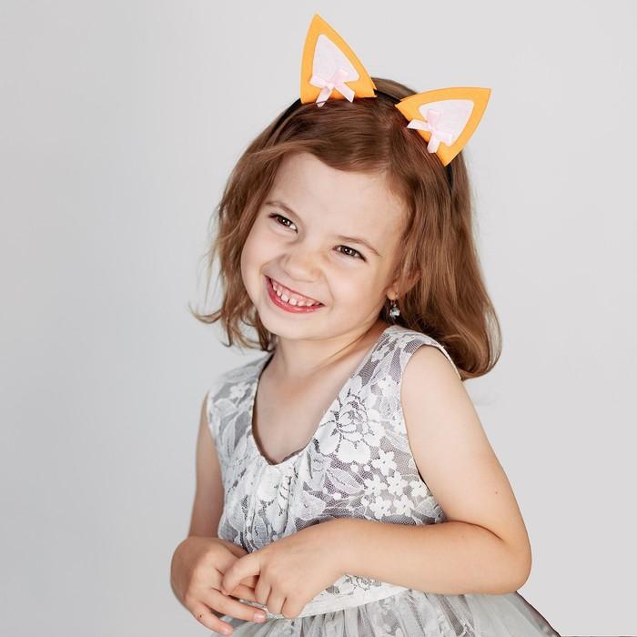 "Carnival headband-ears ""Foxy"""
