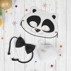 "Карнавальный костюм ""Панда"" маска, хвостик, бабочка"