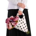 Пакет‒кувшин для цветов «Самой нежной» 30 х 32 см