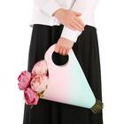 Пакет‒кувшин для цветов «Самой классной» 30 х 32 см