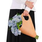 Пакет‒кувшин для цветов «Самой чудесной» 30 х 32 см