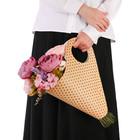 Пакет‒кувшин для цветов «Самой обаятельной» 30 х 32 см