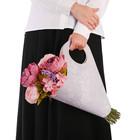 Пакет‒кувшин для цветов «Самой красивой» 30 х 32 см