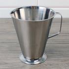 металлическая мерная посуда