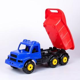 Машинка детская «Самосвал», синяя