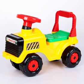 Толокар-машинка «Трактор», цвет жёлтый Ош