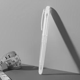 Ручка для ткани, термоисчезающая, цвет белый №01