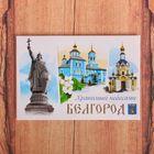 """Магнит закатной """"Белгород"""", 8 х 5,5 см"""