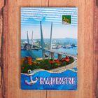 """Магнит закатной """"Владивосток"""""""
