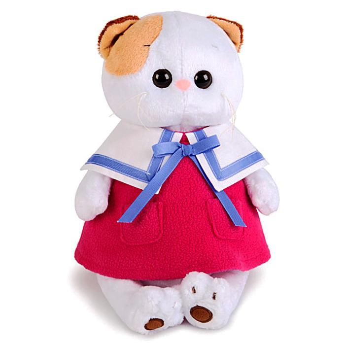 Мягкая игрушка «Кошечка Ли-Ли», в морском платье, 24 см - фото 105612944